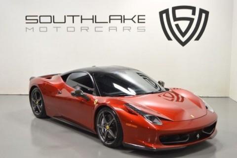 2010 Ferrari 458 Coupe for sale