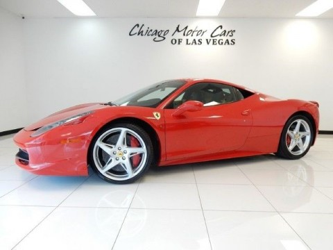 2011 Ferrari 458 2dr Coupe for sale