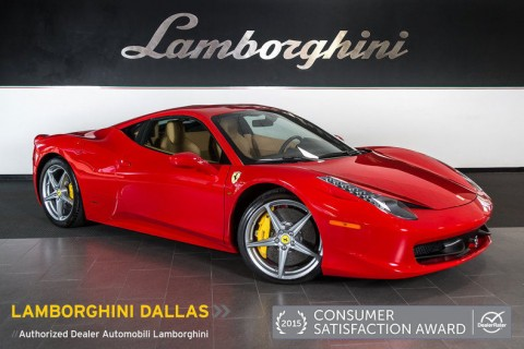 2011 Ferrari 458 Italia Coupe for sale