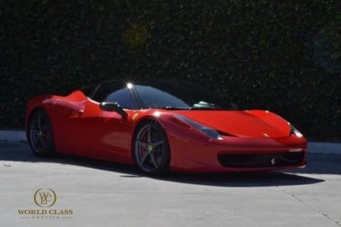 2013 Ferrari 458 Italia for sale