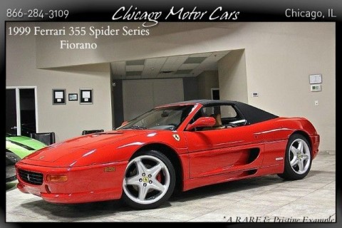1999 Ferrari 355 2dr Convertible for sale