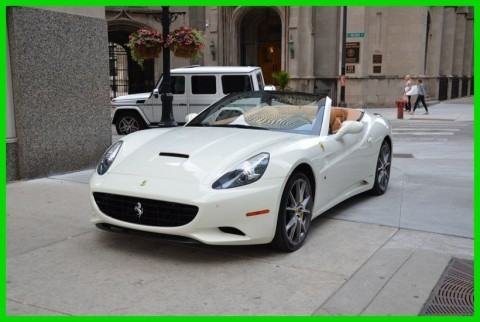 2012 Ferrari California Beautiful 2012 Ferrari California White! Loaded! for sale