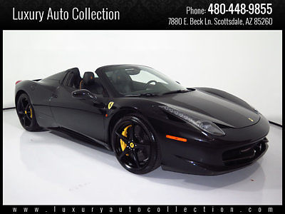 2014 Ferrari 458 2dr Convertible for sale
