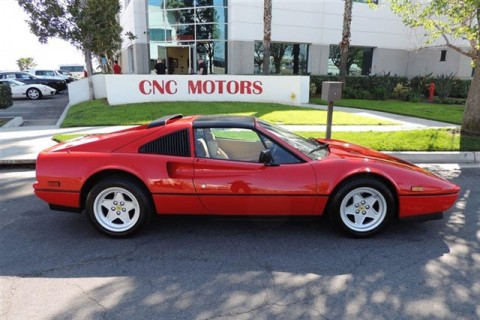 1986 Ferrari 328 GTS in Rosso Corsa for sale