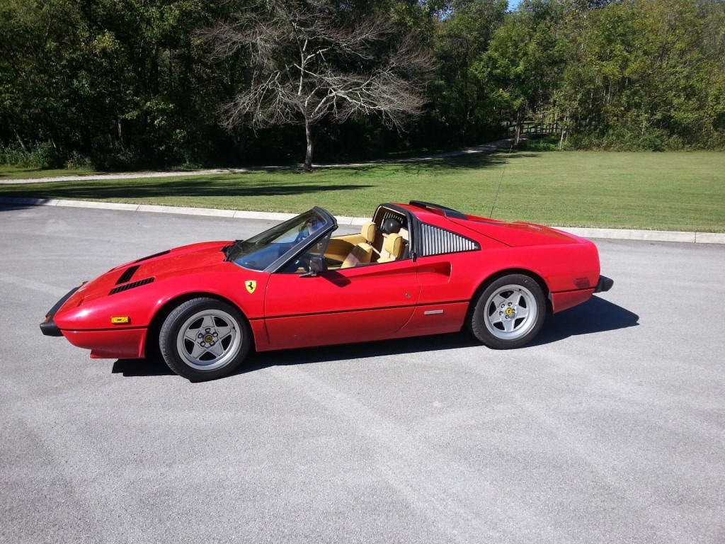 1983 ferrari 308 gtsi for sale. Black Bedroom Furniture Sets. Home Design Ideas