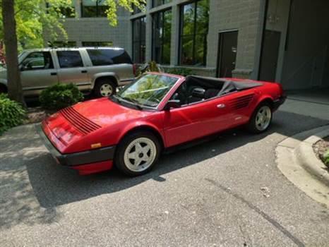1985 Ferrari Mondial Quattrovalvole Convertible for sale