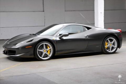 2010 Ferrari 458 Italia Grigio Silverstone for sale