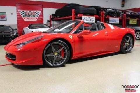2013 Ferrari 458 Spider F1 for sale