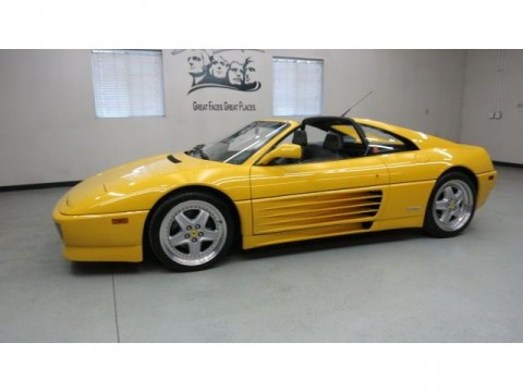 1992 Ferrari 348 TS Giallo Fly Yellow for sale