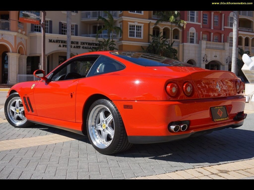 2001 ferrari 550 maranello for sale. Black Bedroom Furniture Sets. Home Design Ideas