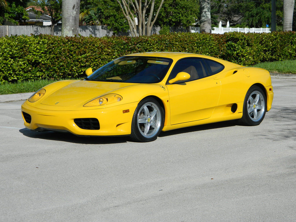 2000 Ferrari 360 Manual Transmission Sunroof Coupe For Sale
