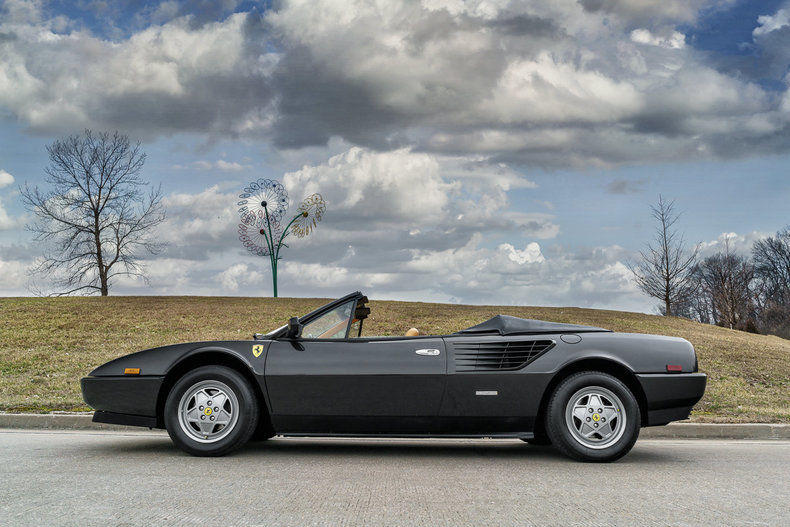 1986 ferrari mondial convertible for sale. Black Bedroom Furniture Sets. Home Design Ideas