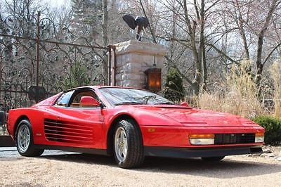1988 Ferrari Testarossa 1988.5 TR for sale
