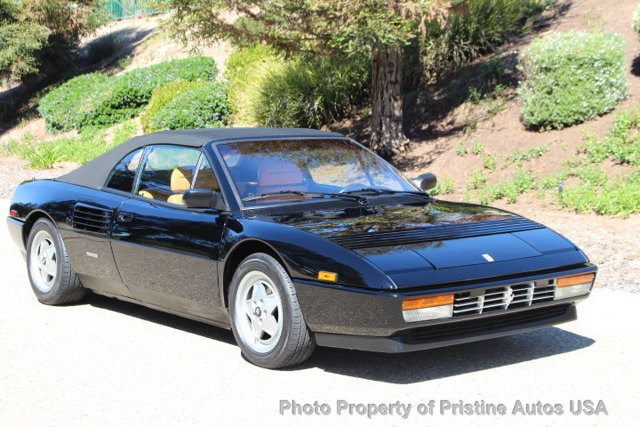 1991 ferrari mondial t cabriolet for sale. Black Bedroom Furniture Sets. Home Design Ideas