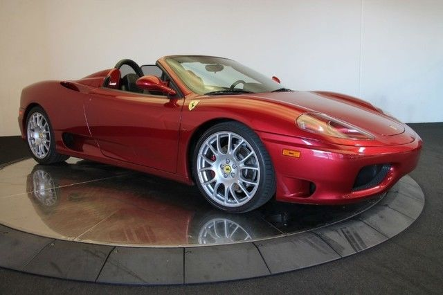 2001 ferrari 360 spider for sale. Cars Review. Best American Auto & Cars Review