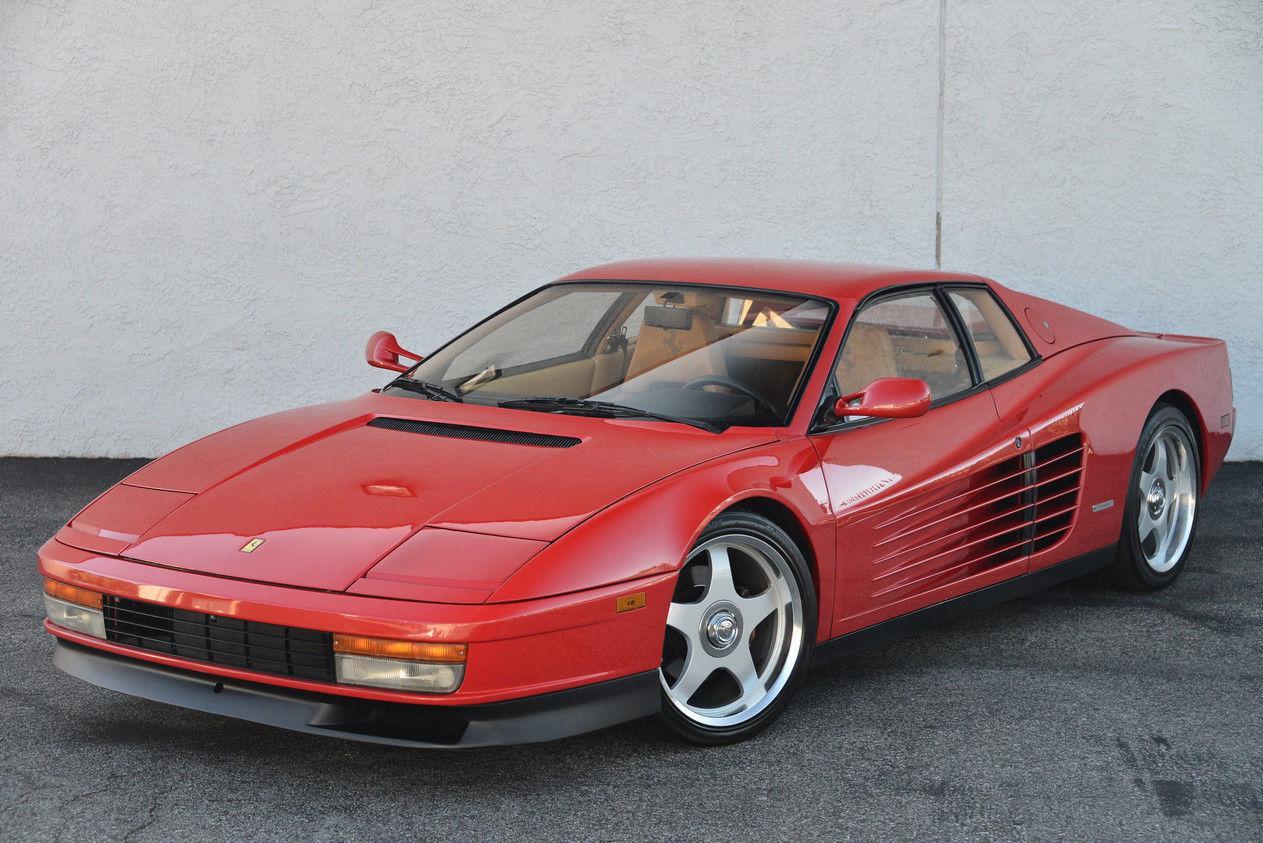 Ferrari F40 For Sale >> 1985 Ferrari Testarossa for sale