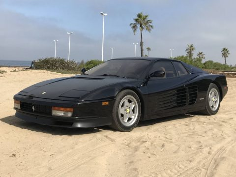 Stunning Black 1990 Ferrari Testarossa for sale