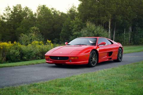 1999 Ferrari F355 Berlinetta F1 low milage for sale
