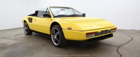 1984 Ferrari Mondial Spider for sale