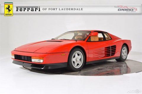 1986 Ferrari Testarossa – EXCELLENT SHAPE for sale