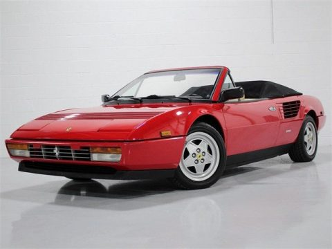 1988 Ferrari Mondial Cabriolet – like new for sale