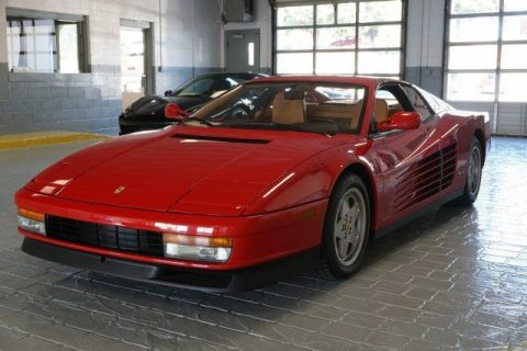 1989 Ferrari Testarossa 5SPD for sale