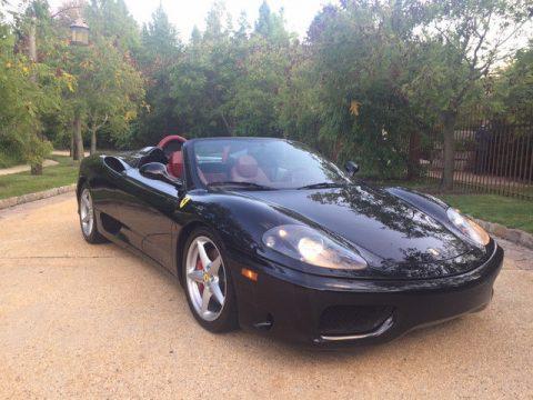 RARE 2001 Ferrari 360 for sale
