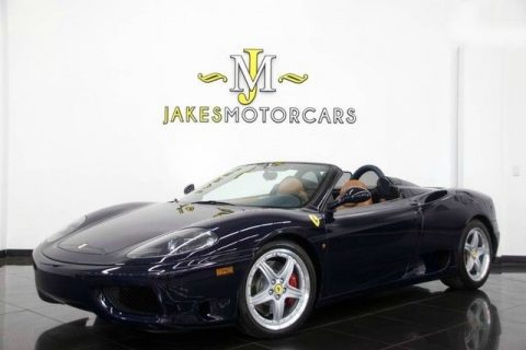 2001 Ferrari 360 Spider – RARE 6 Speed MANUAL for sale