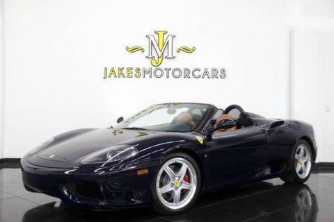 2001 Ferrari 360 Spider – RARE 6 Speed MANUAL for sale
