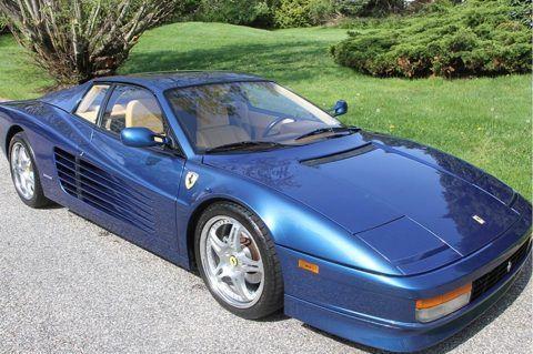 BEAUTIFUL 1989 Ferrari Testarossa Blue with Tan Leather Interiror for sale